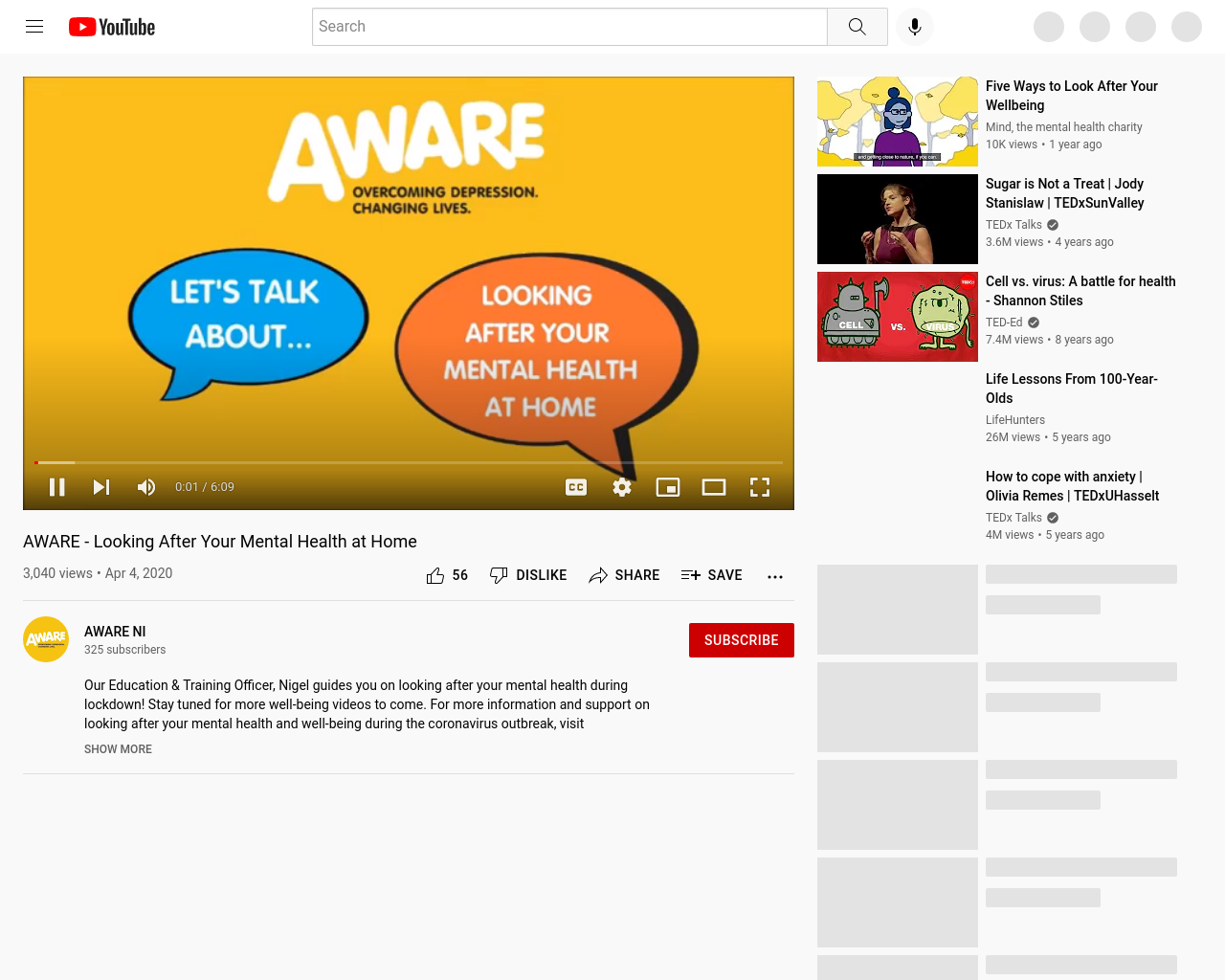 AWARE NI Video