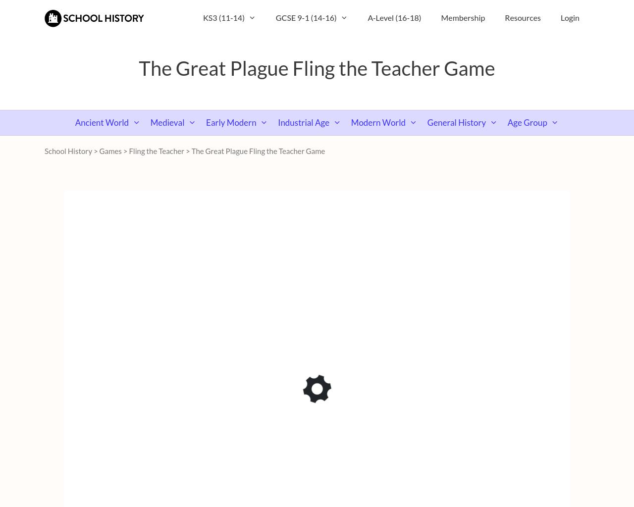 Fling the Teacher