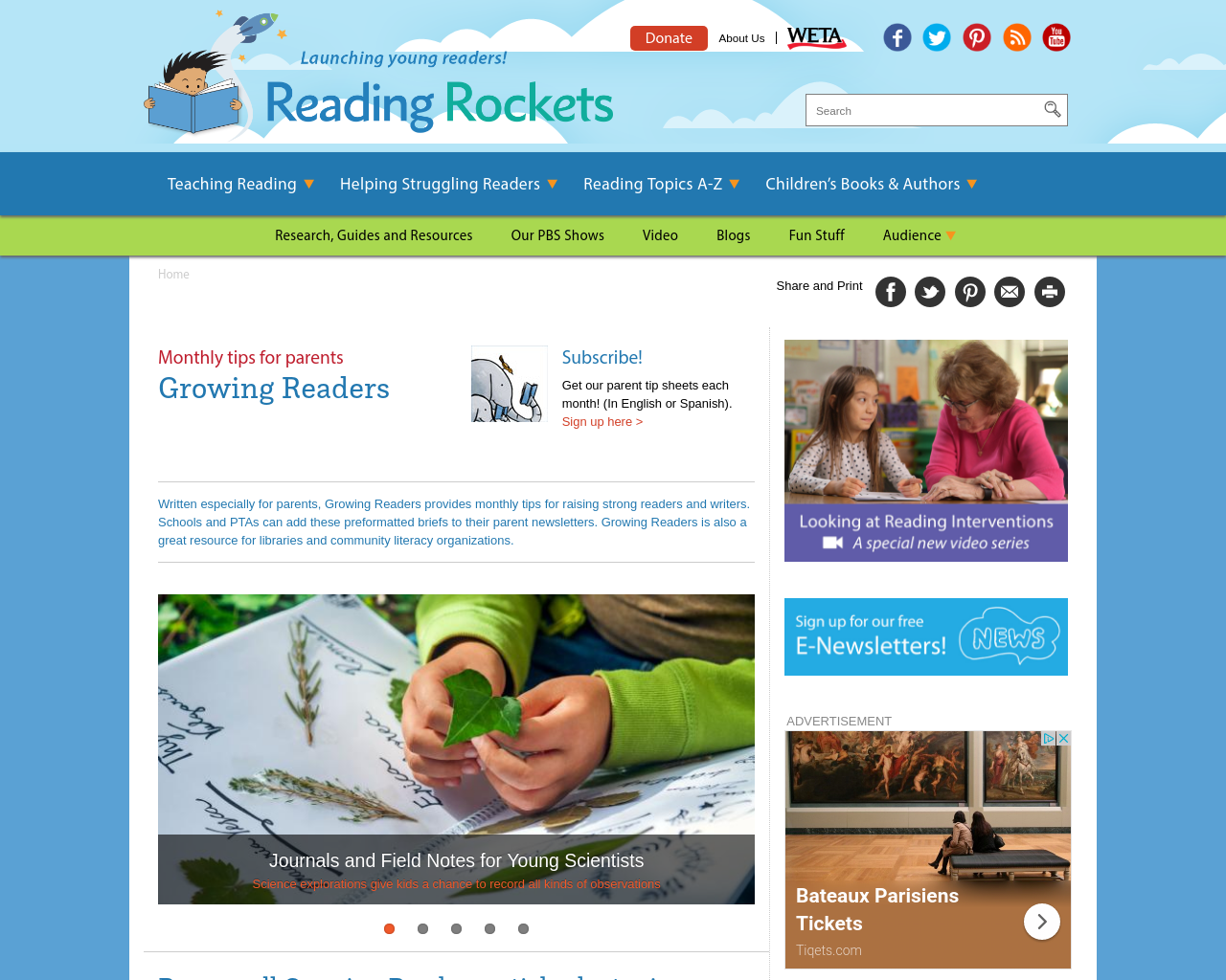 Parents and Reading