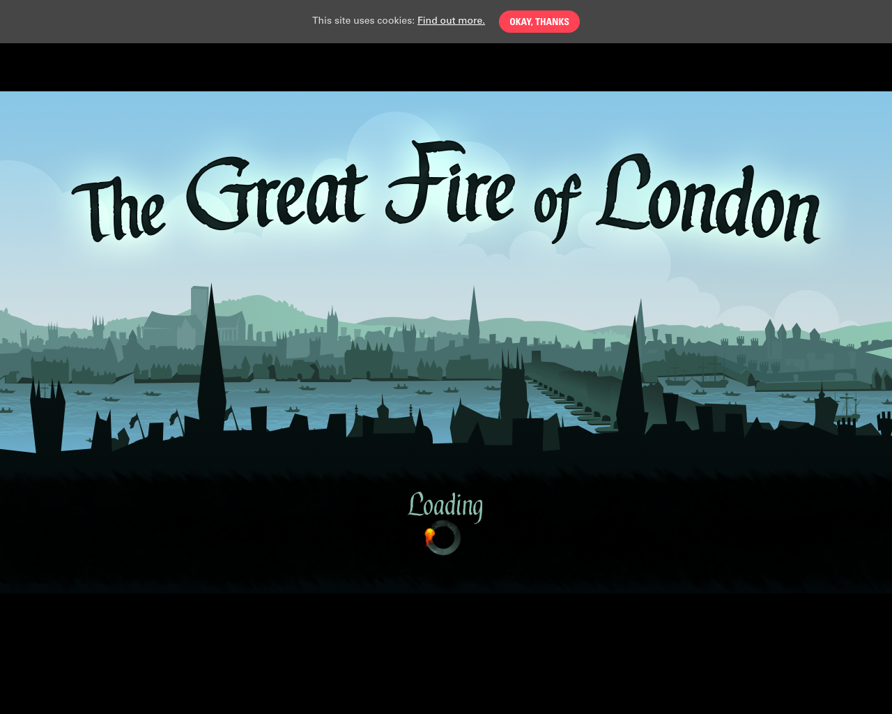 Great Fire of London: Play the Game