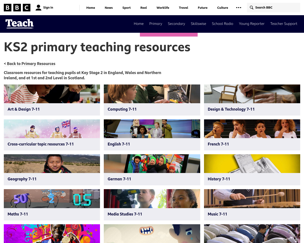 BBC Teach KS2