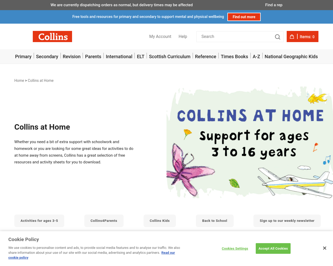 Collins Primary Resources