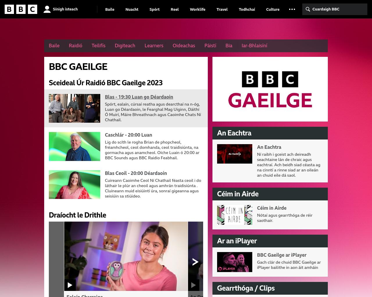 BBC - Gaeilge