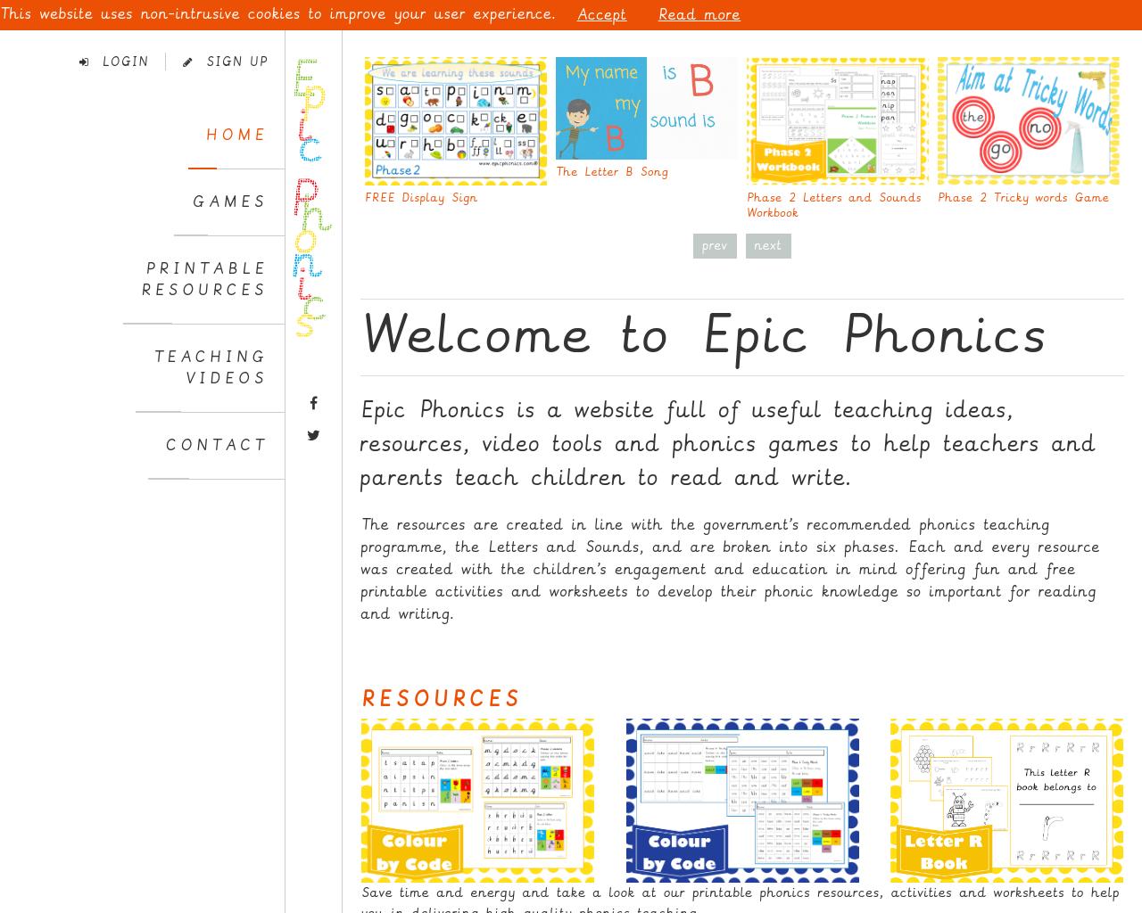 EPIC PHONICS