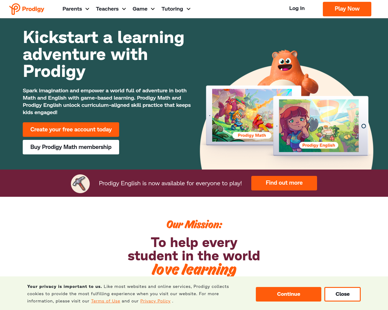 Prodigy Games