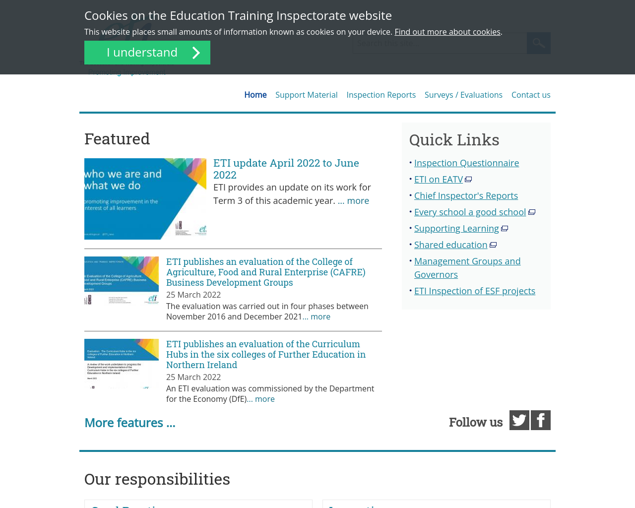 Education and Training Inspectorate NI