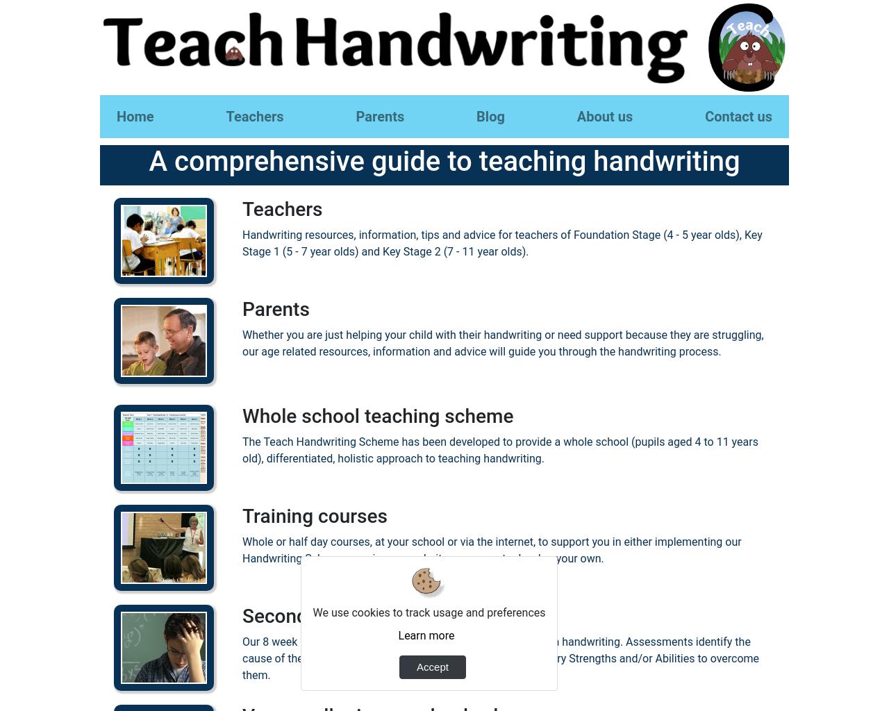 Handwriting Tips & Practice