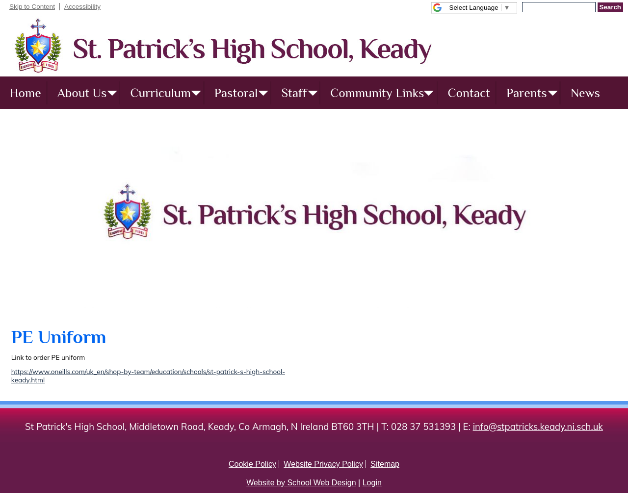St. Patrick's High School Keady