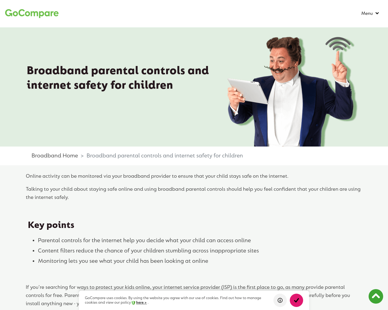Go Compare Internet Safety