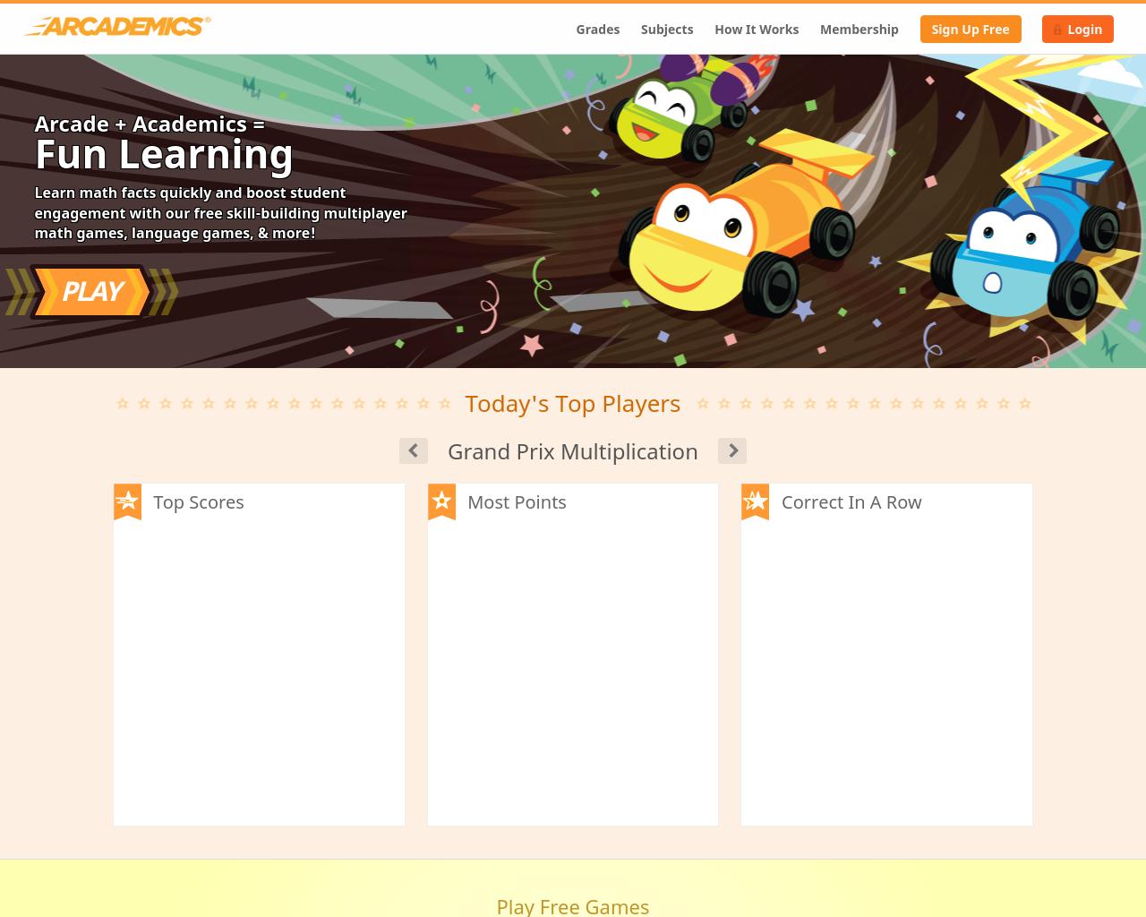 Arcademic Skills Builders