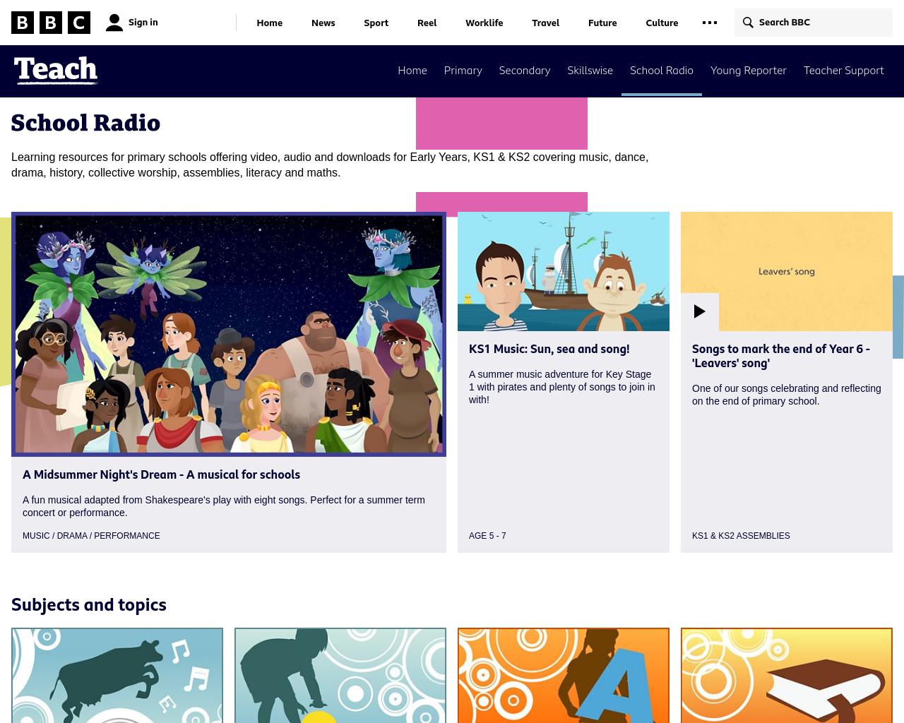 BBC School Radio
