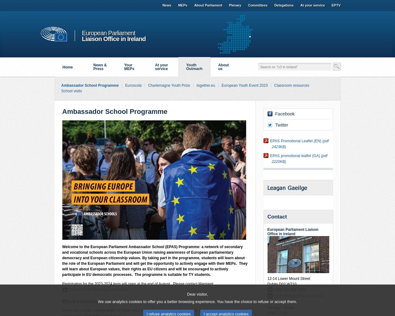 European Ambassador Schools Programme