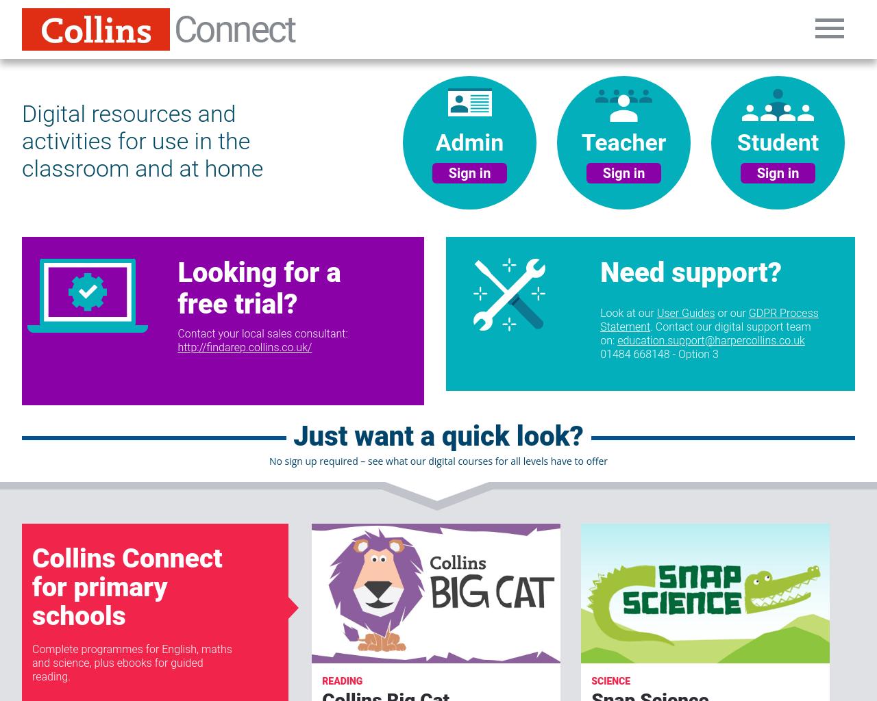 COLLINS BIG CAT E-BOOKS