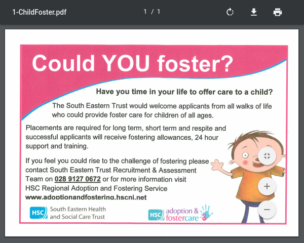 Child Fostering