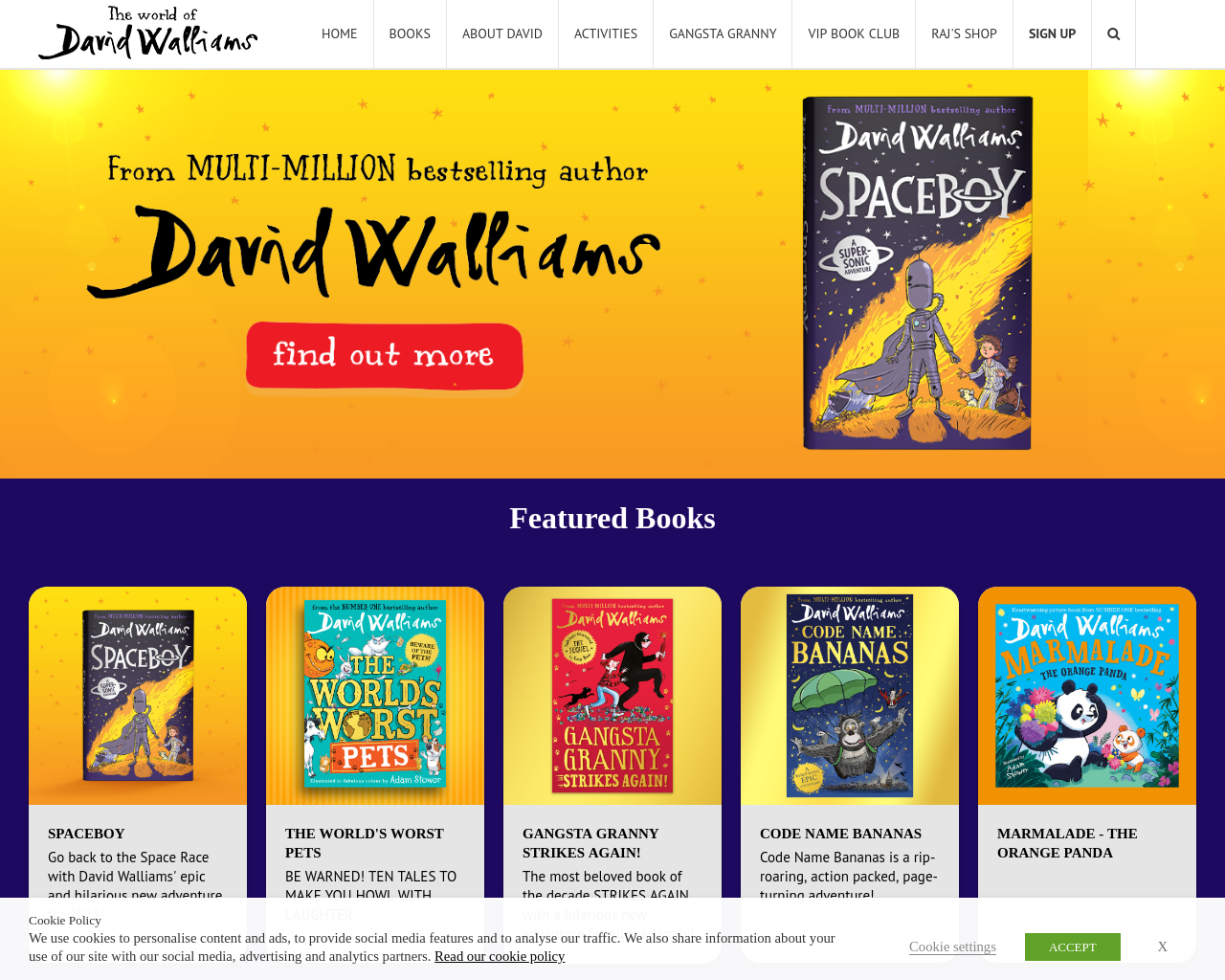 World of David Walliams
