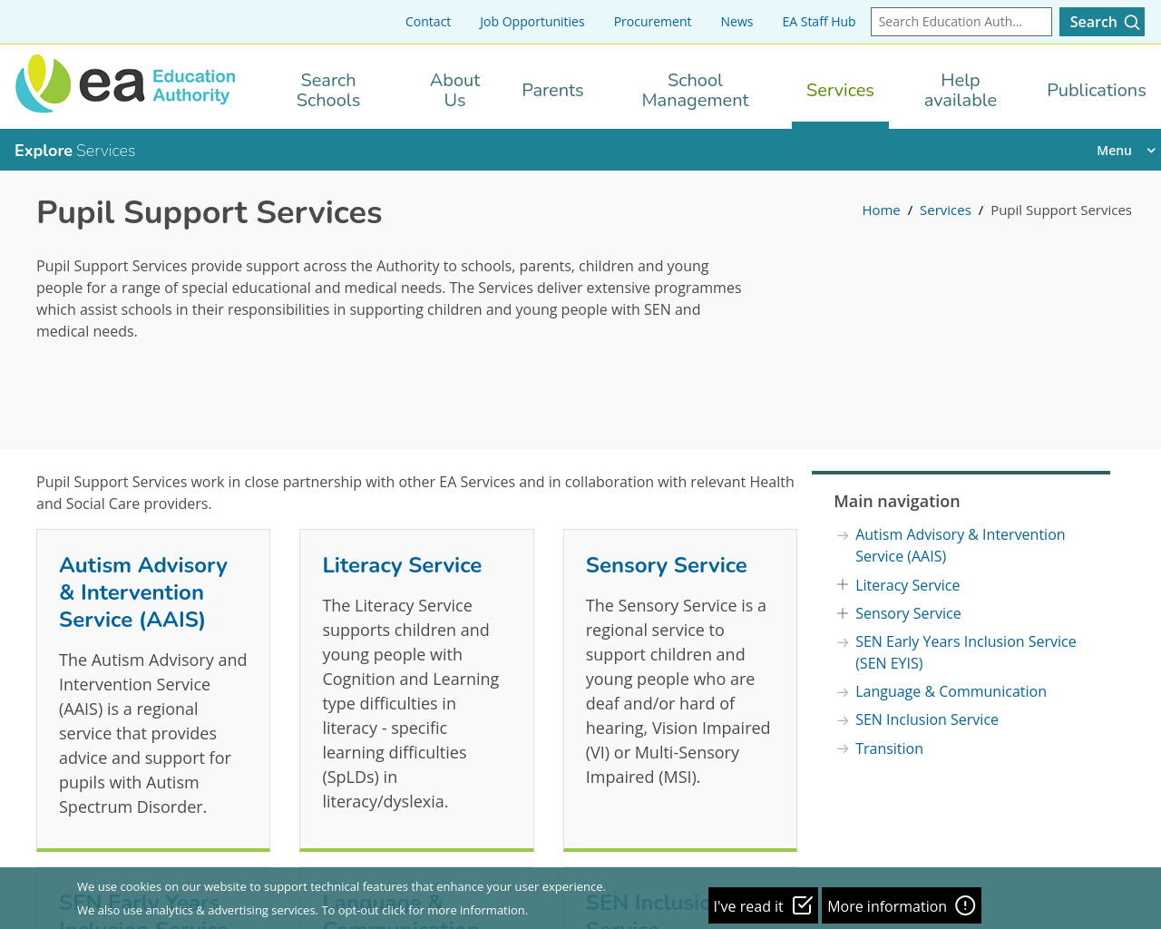 Pupil Support Services