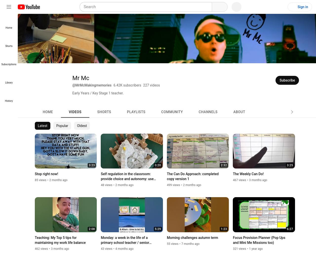 Mr Mc Youtube