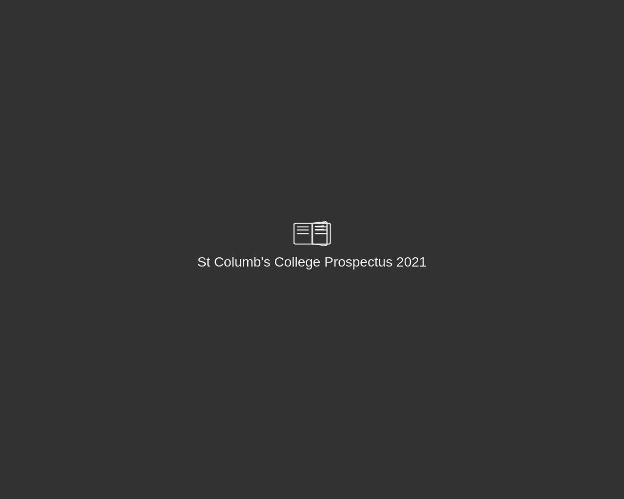 St. Columb's College Prospectus 2021