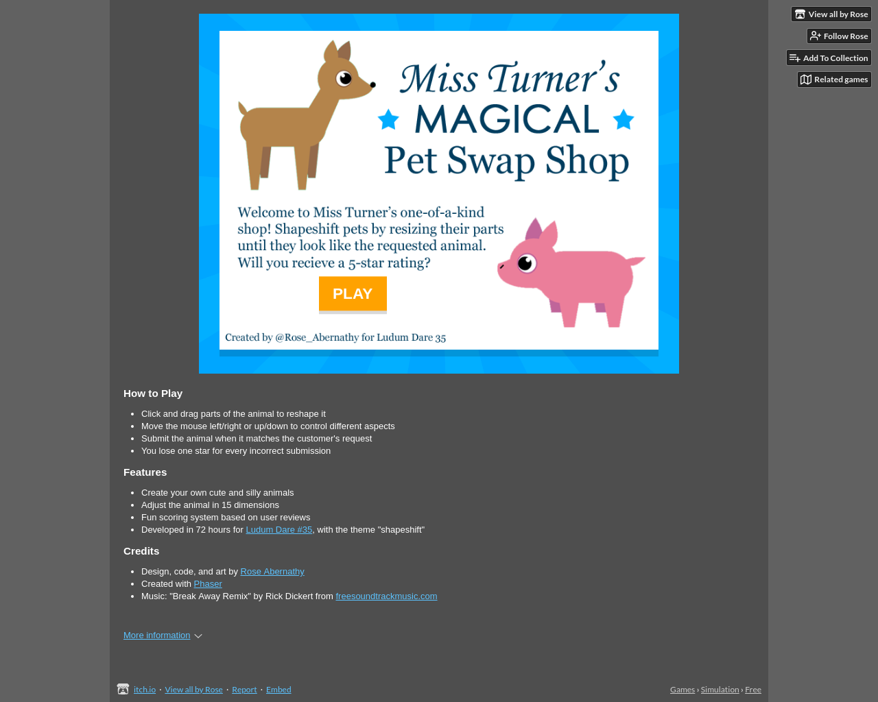 Miss Turners Magical Pet Swap Shop