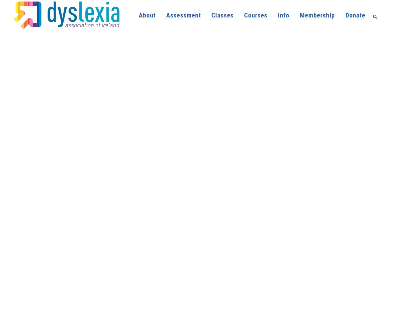 Dyslexia Association Ireland
