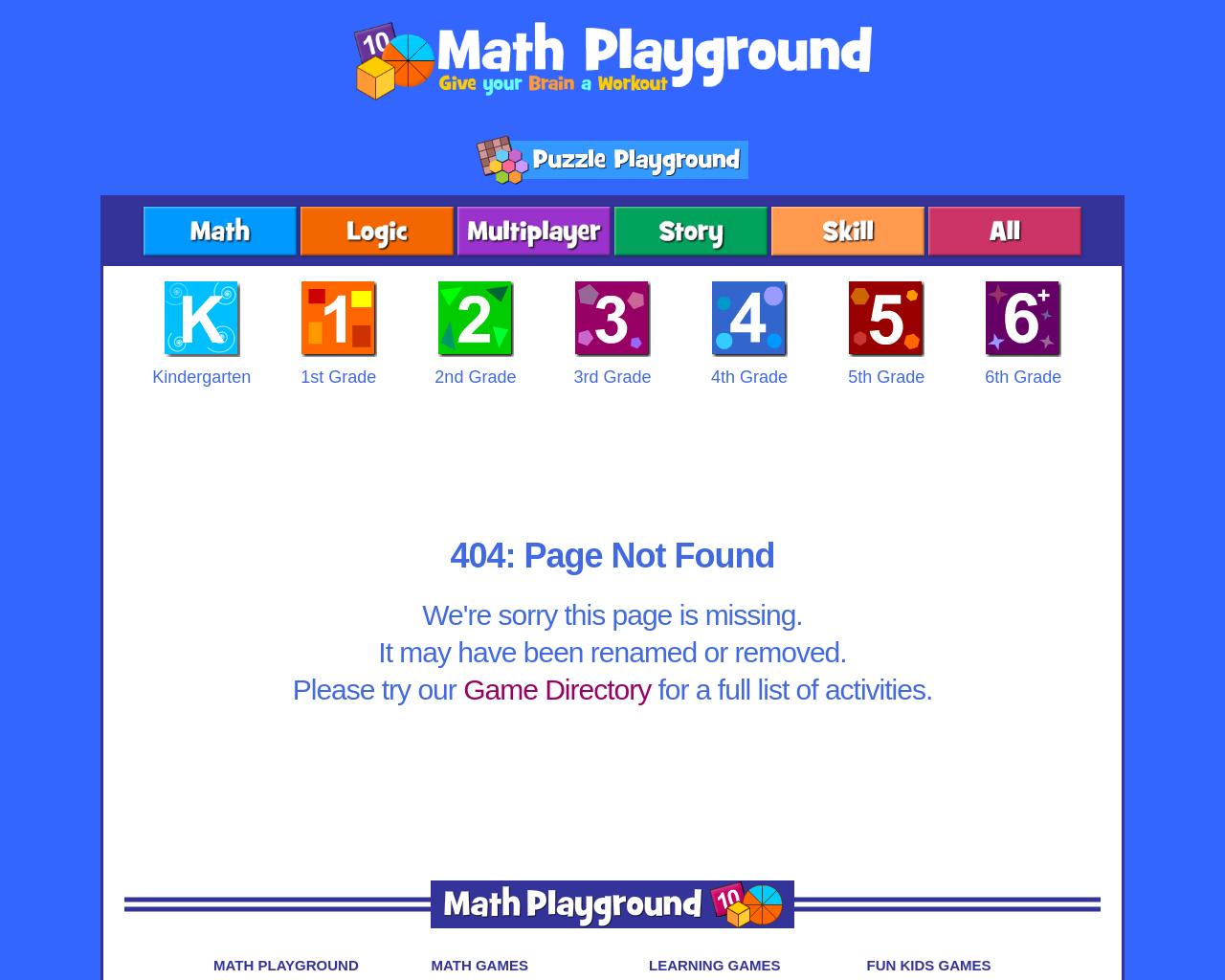 Maths Playground