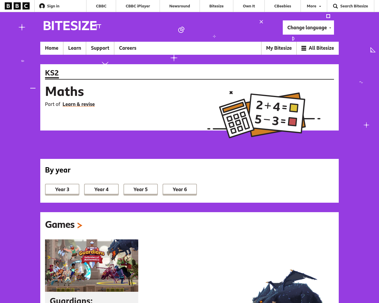 BBC Maths Games