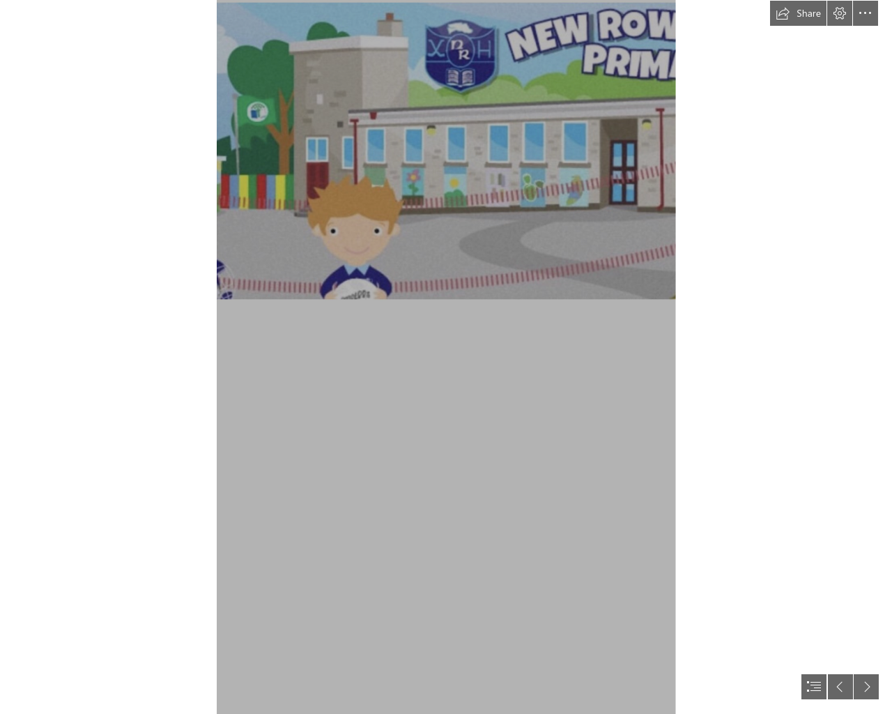 Start of year information & reminders Sept 21