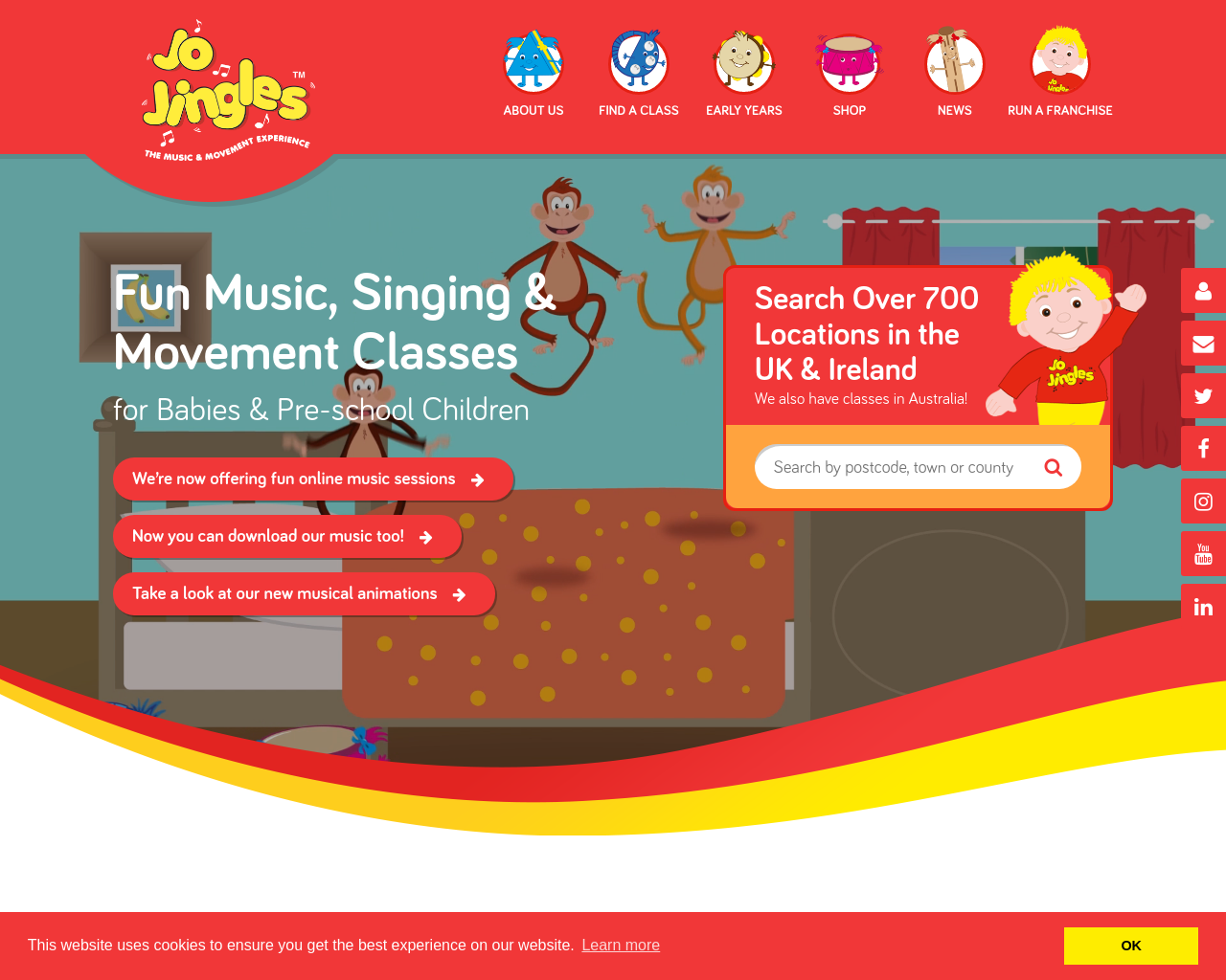 Find your local Jo Jingles class