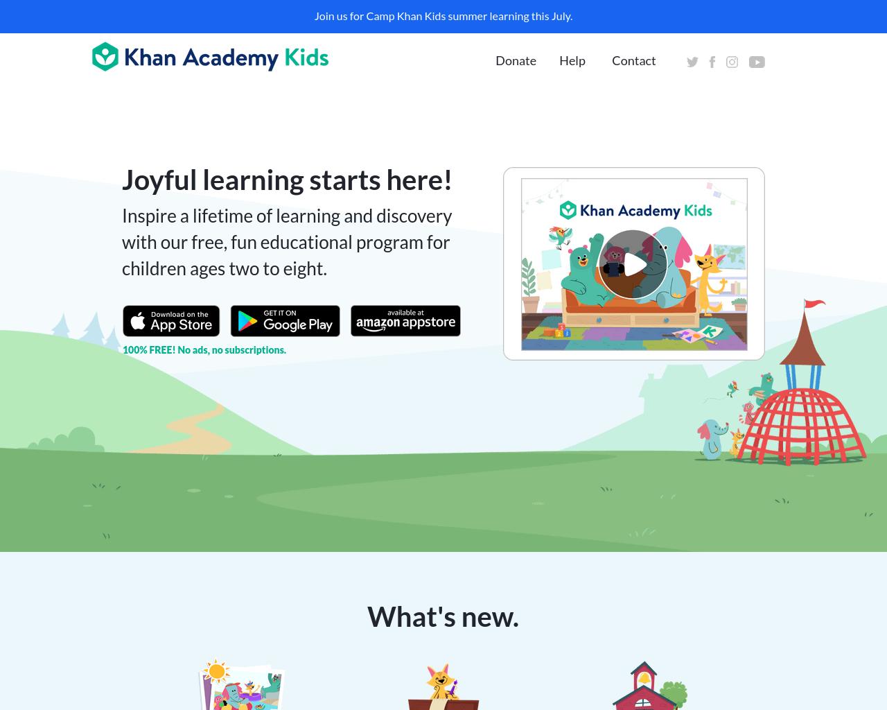 Kahn Academy Kids