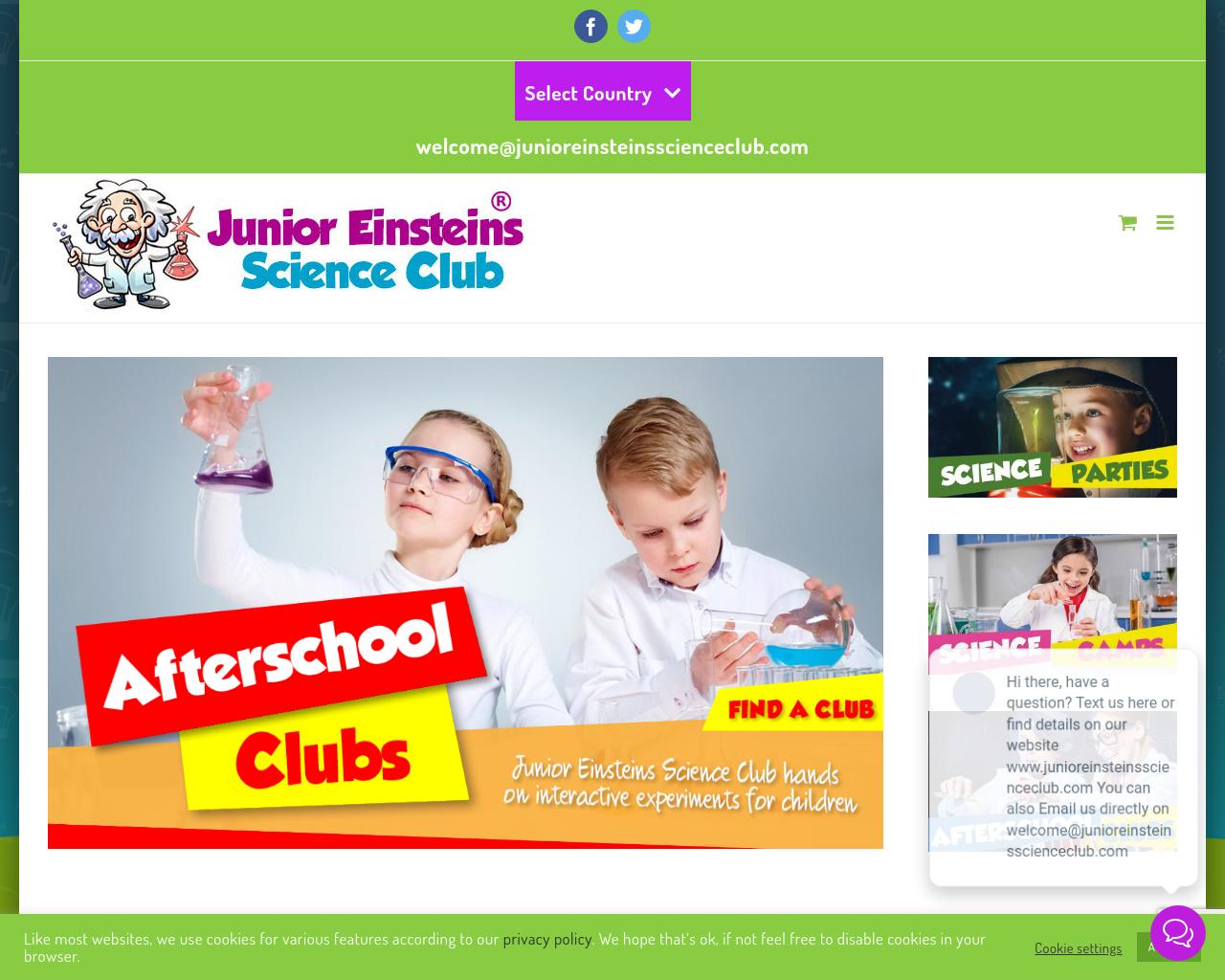 Junior Einstein's Science Club