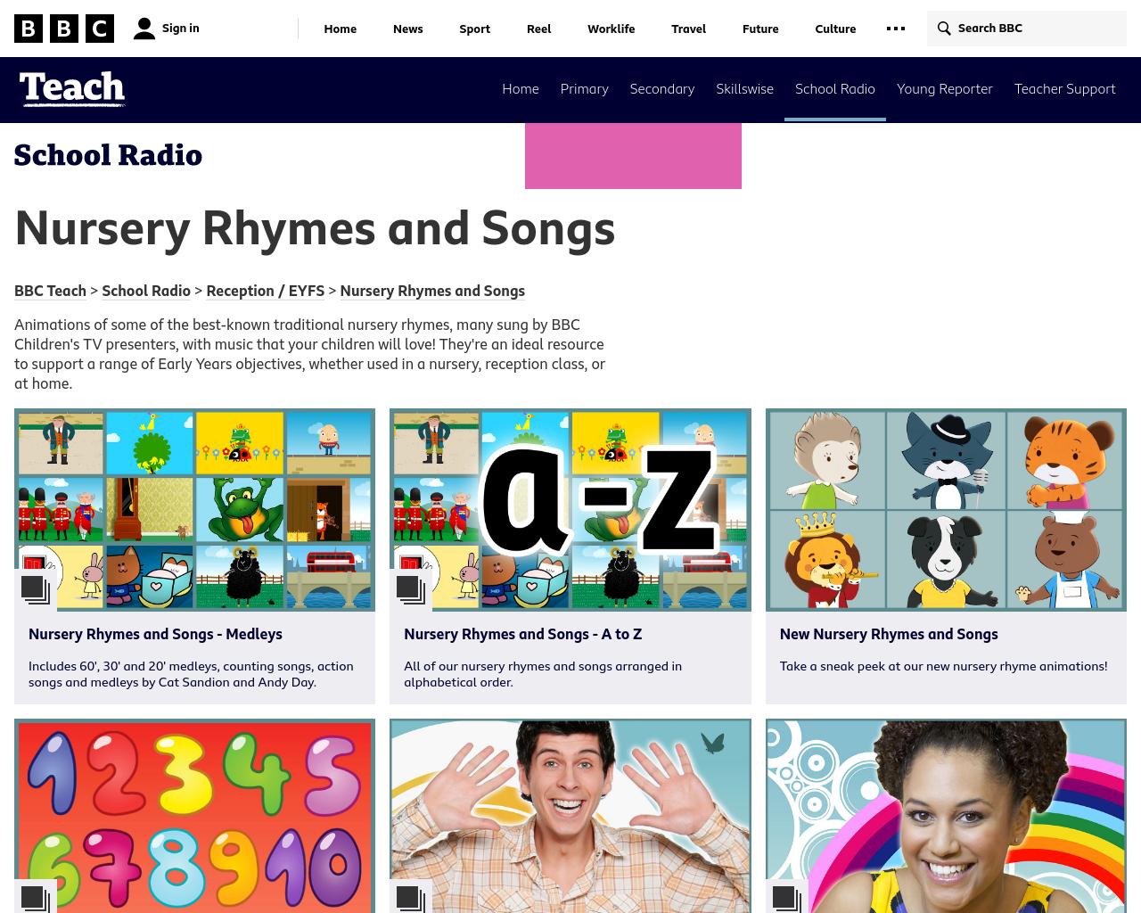 BBC Nursery Rhymes & Songs