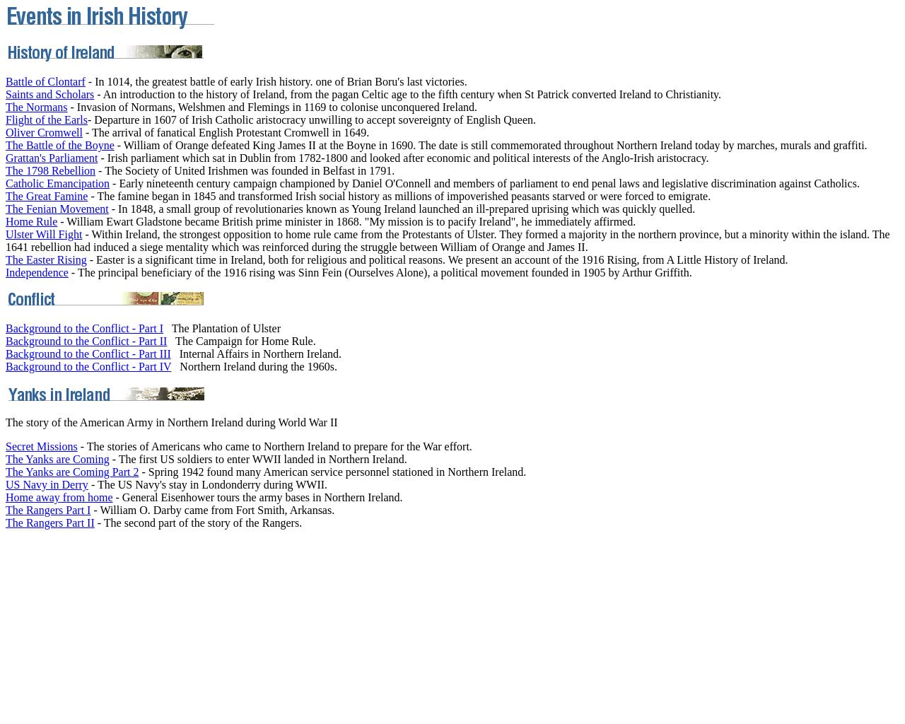 A History of Ireland (irelandseye.com)