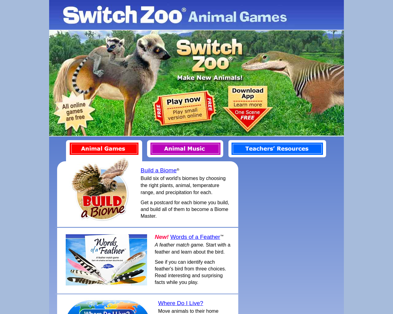Switcheroo Zoo