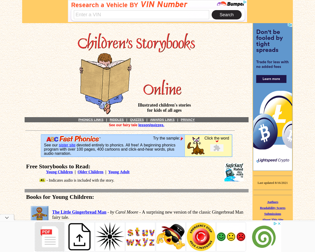 Children's Story Books Online