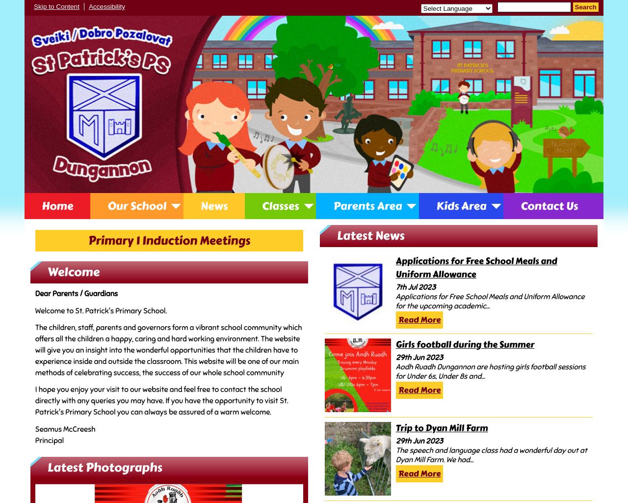 St Patrick's PS Dungannon