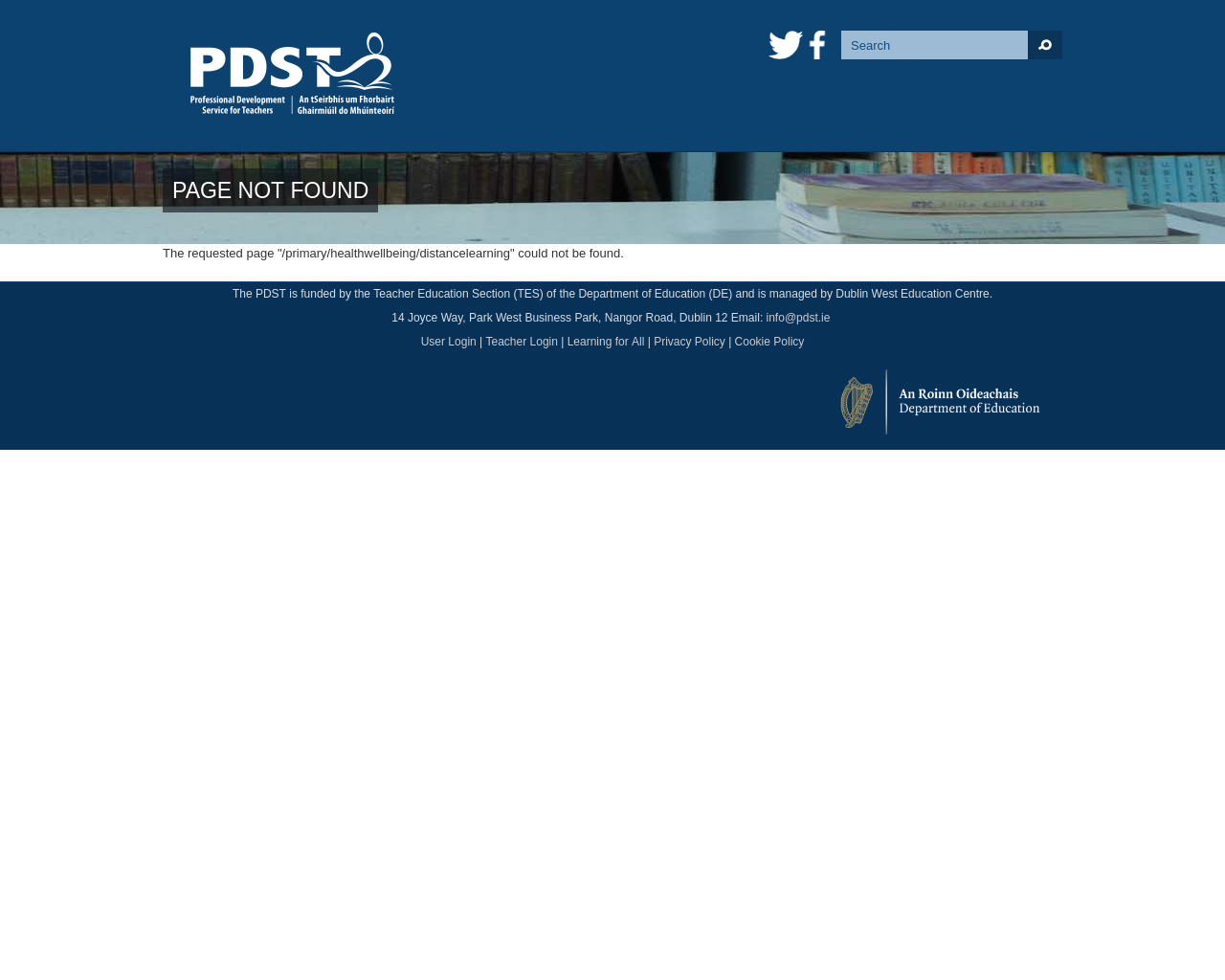 PDST List of Online Resources