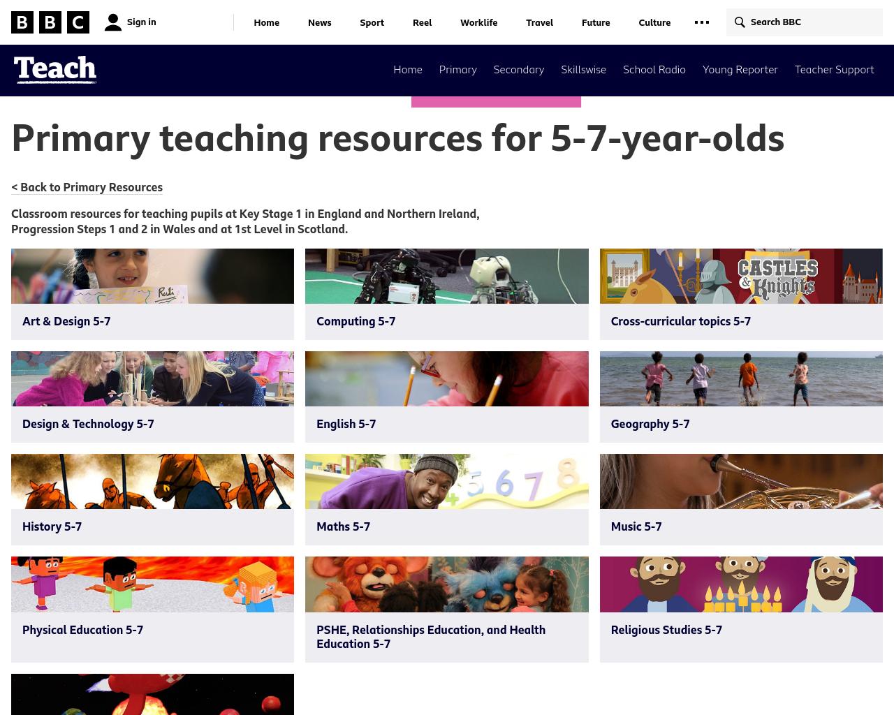 BBC Teach KS1