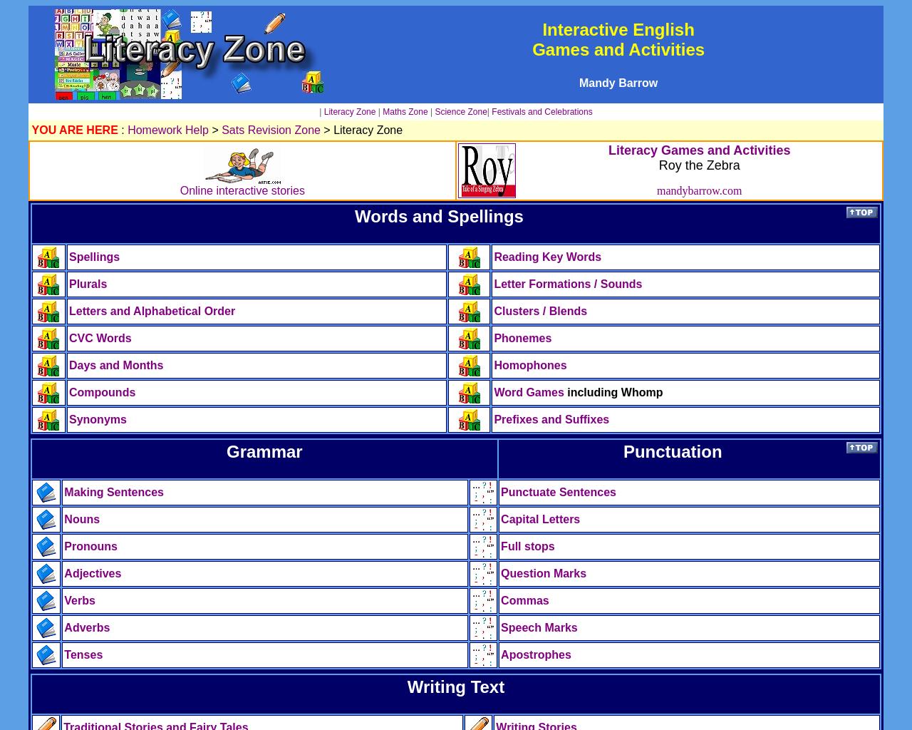 Literacy Zone