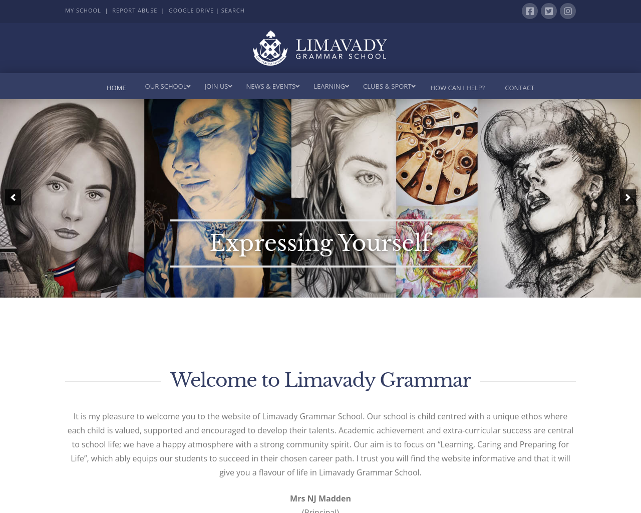 Limavady Grammar School Website