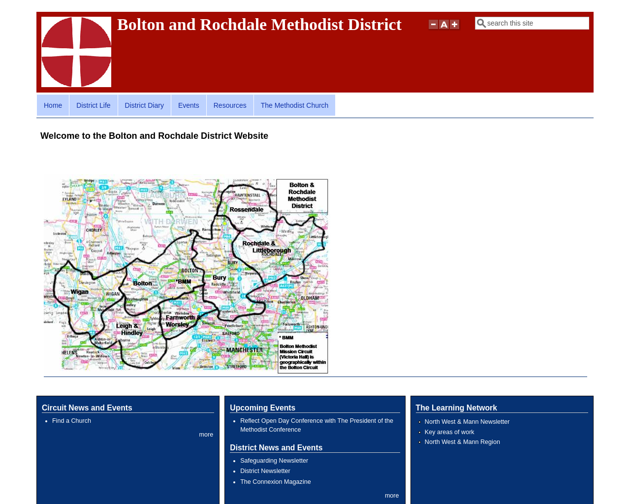 Bolton and Rochdale Methodist District