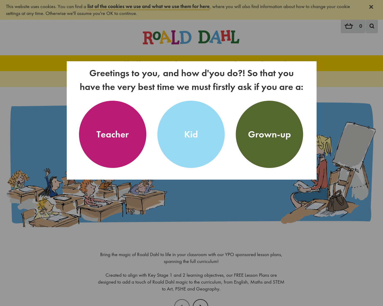 Roald Dahl Resource