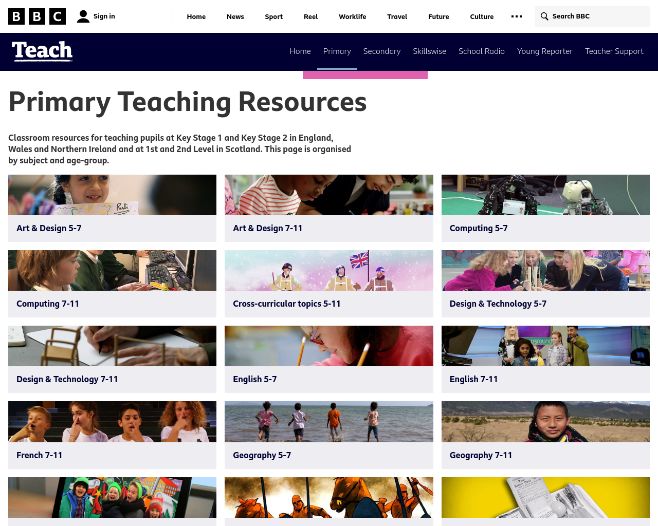 BBC Primary