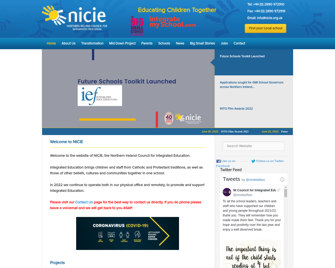 Northern Ireland Integrated Education