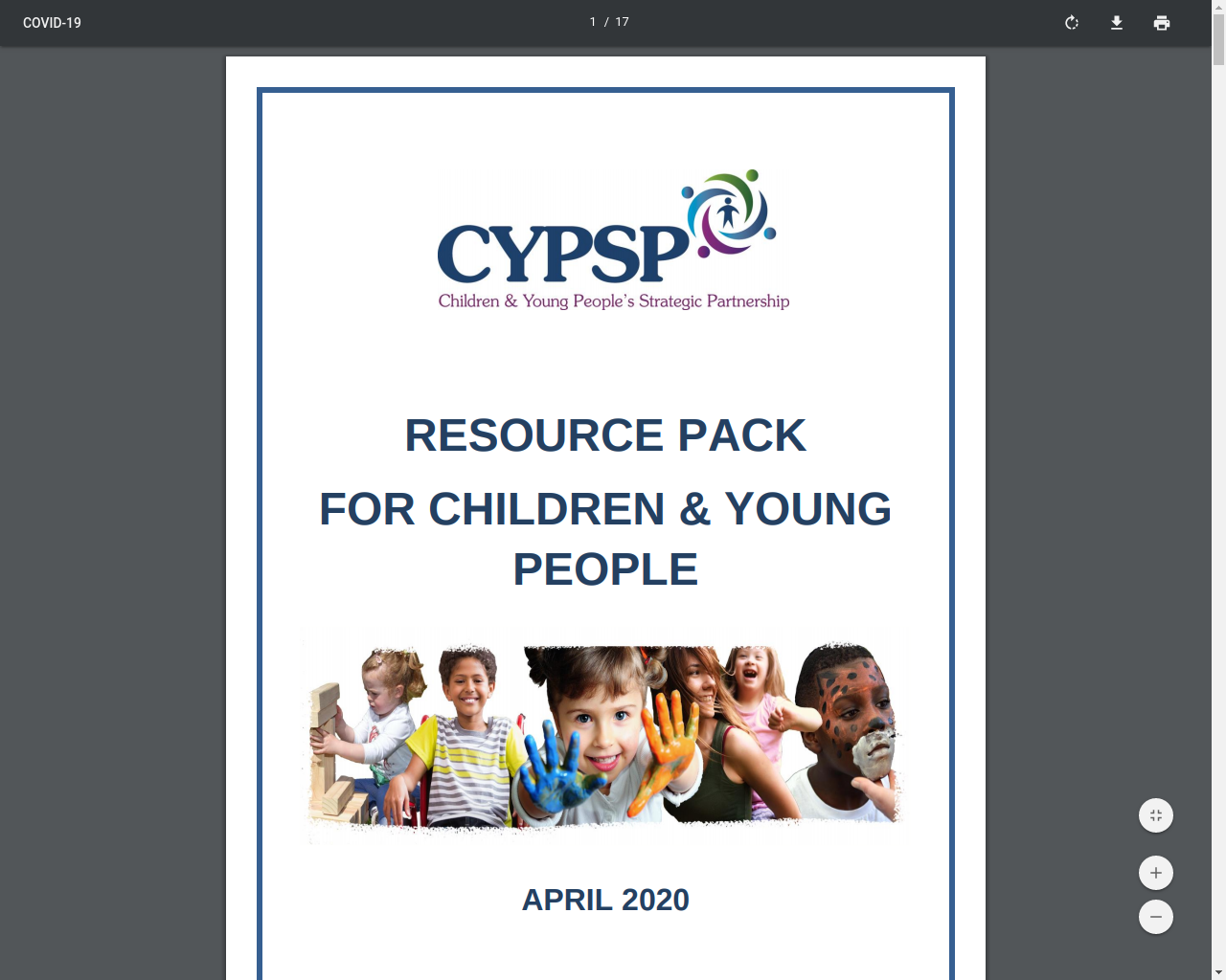 CYPSP Resource directory