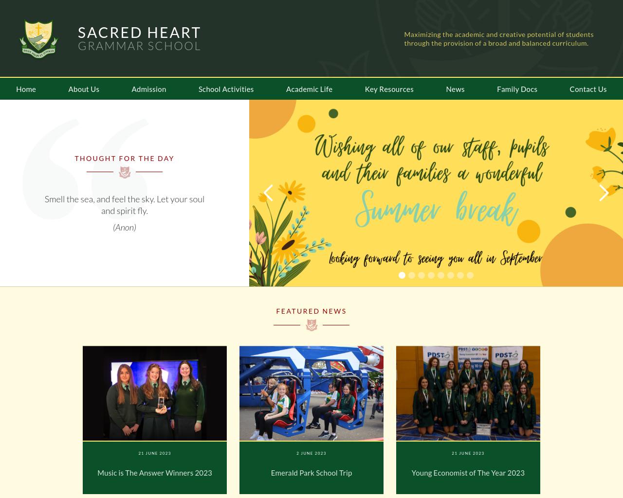 The Sacred Heart Grammar School