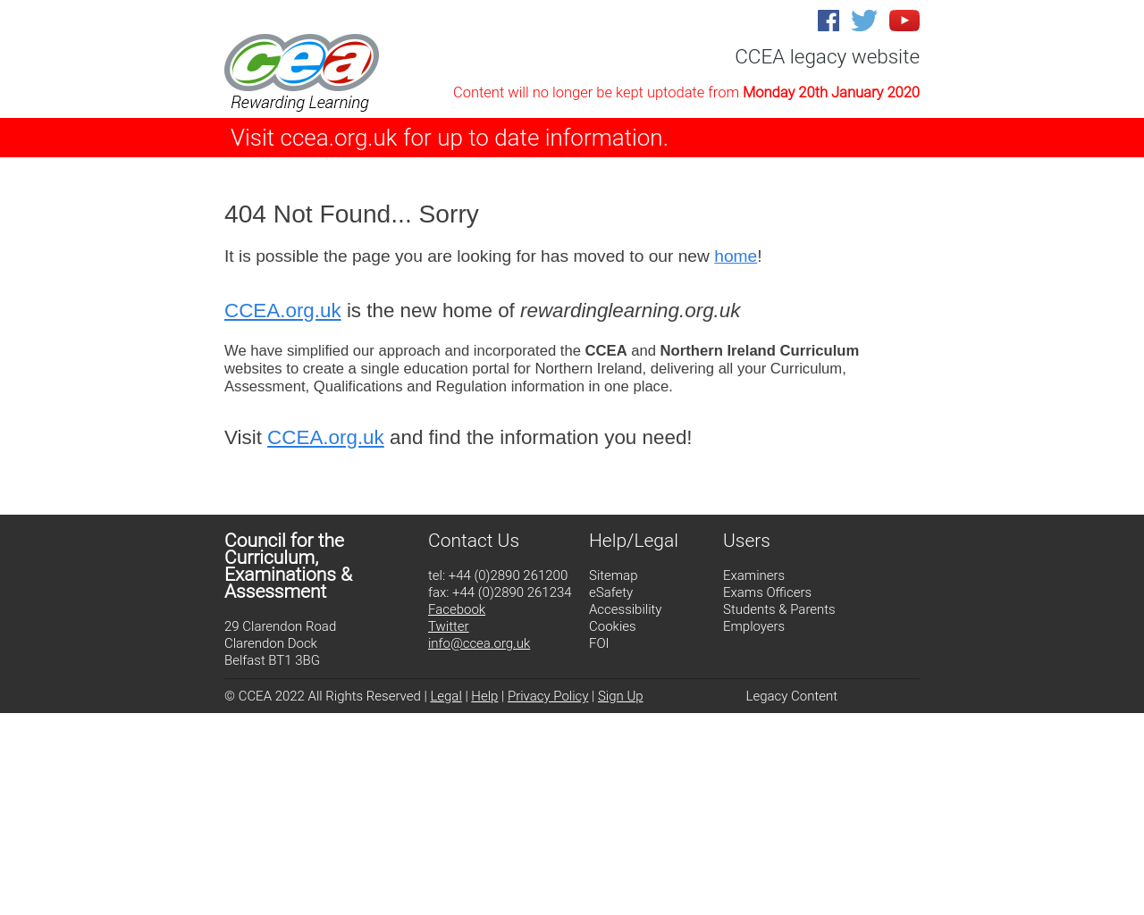 CCEA History Microsite
