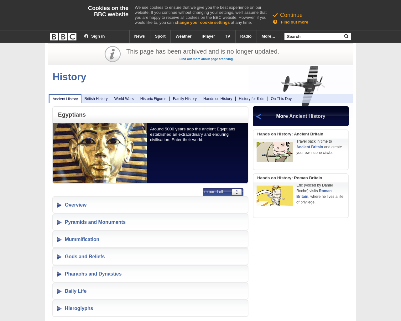 BBC: Ancient Egyptians