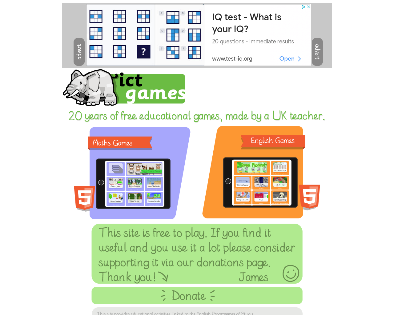 ICT Educational Games