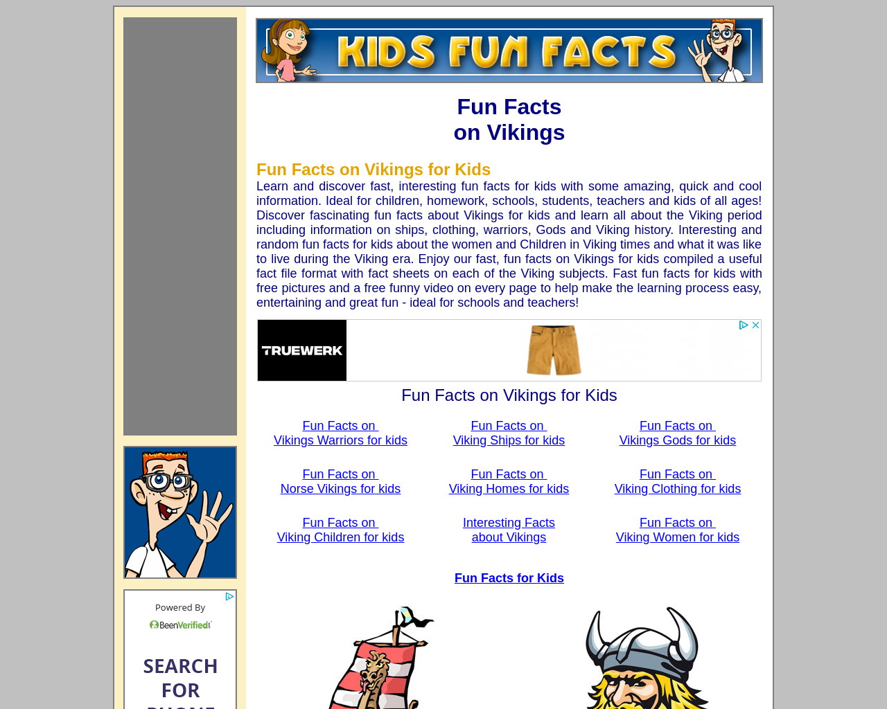 Fun Viking Facts