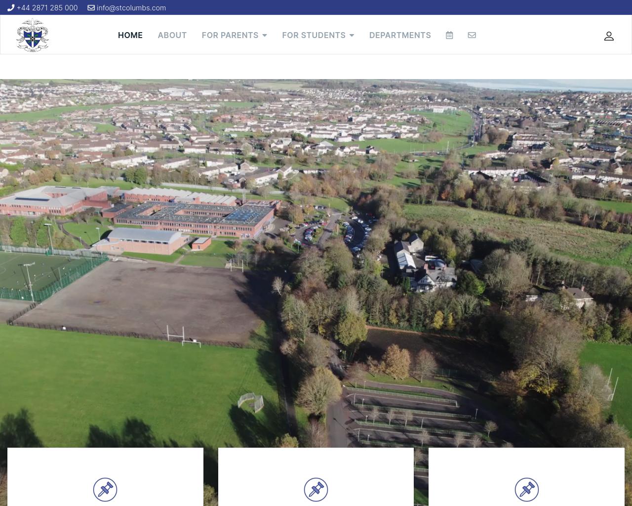 St. Columb's College Website